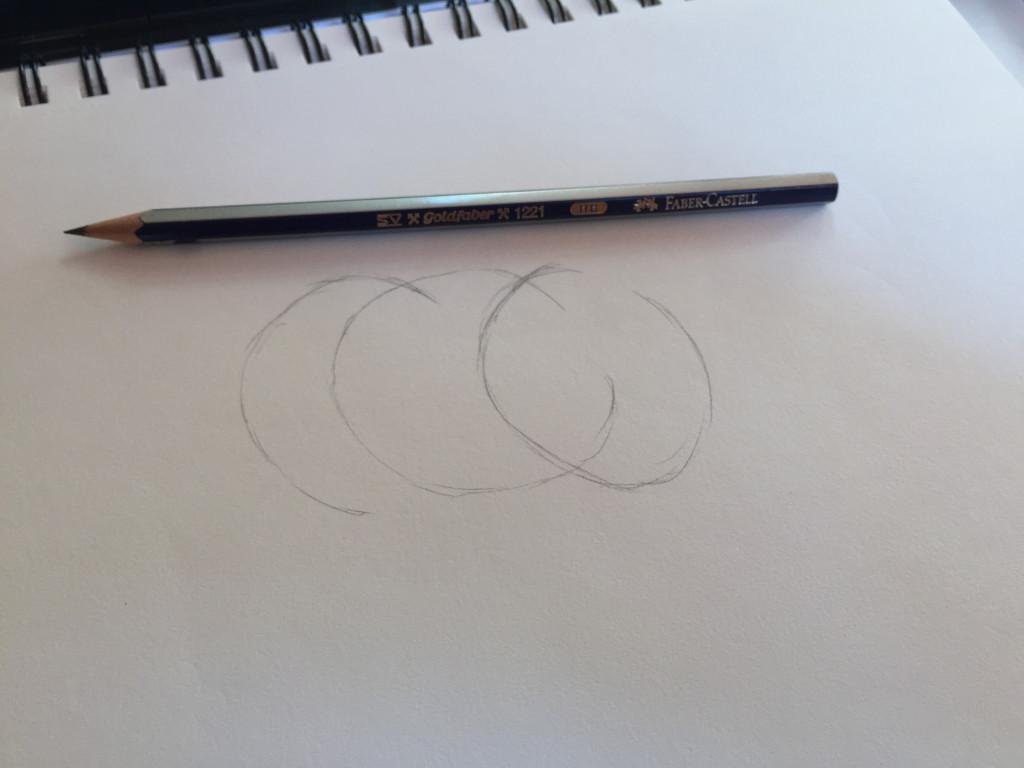 come disegnare un cavallo fase 1