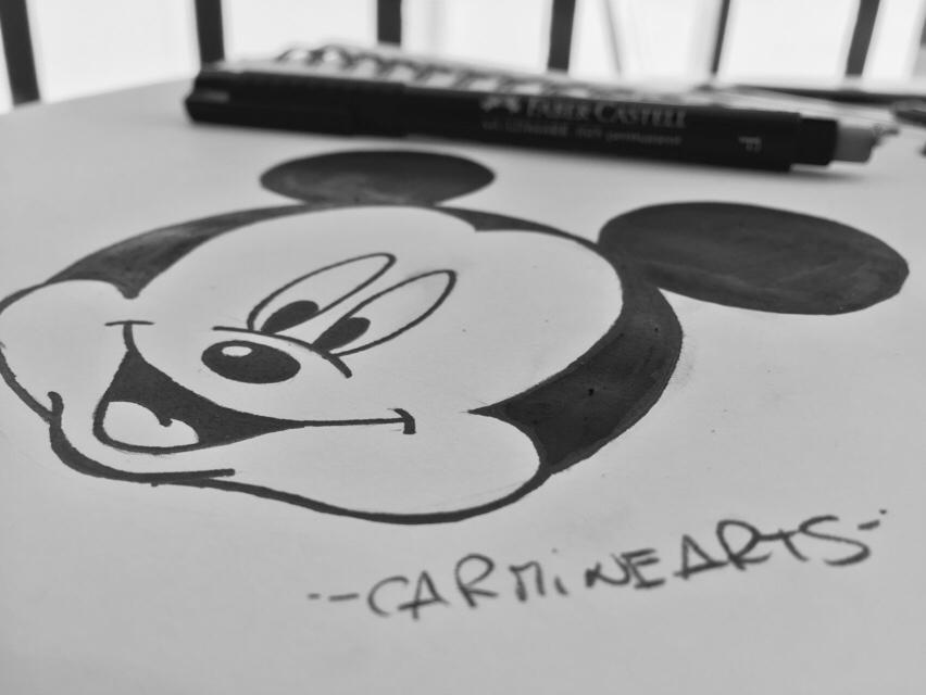Come disegnare Topolino