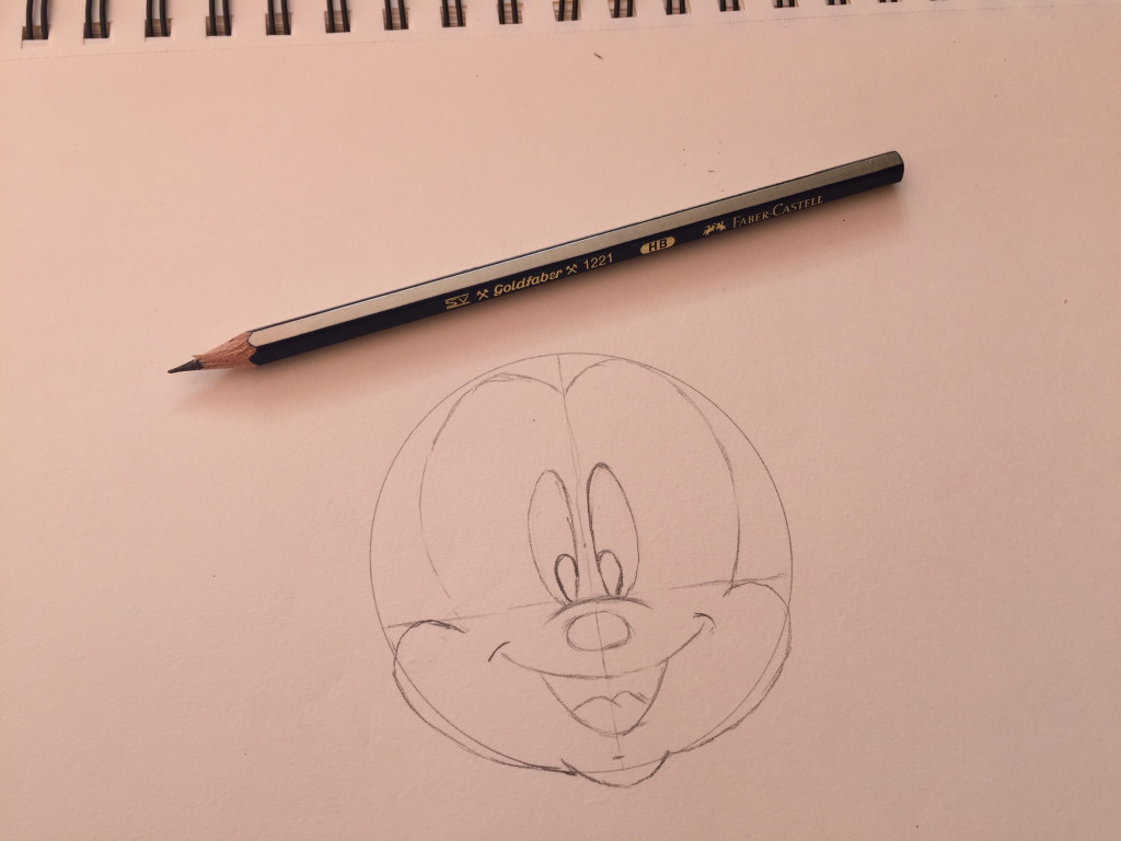come disegnare topolino fase 5