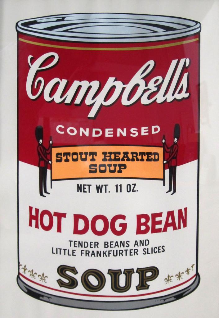 zuppa campbell andy warhol pop art