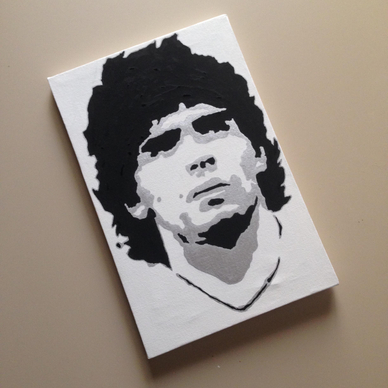 Quadro Maradona