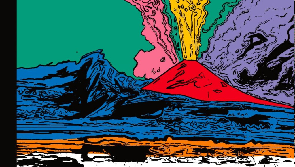 Andy Warhol, quadro Vesuvius, 1985