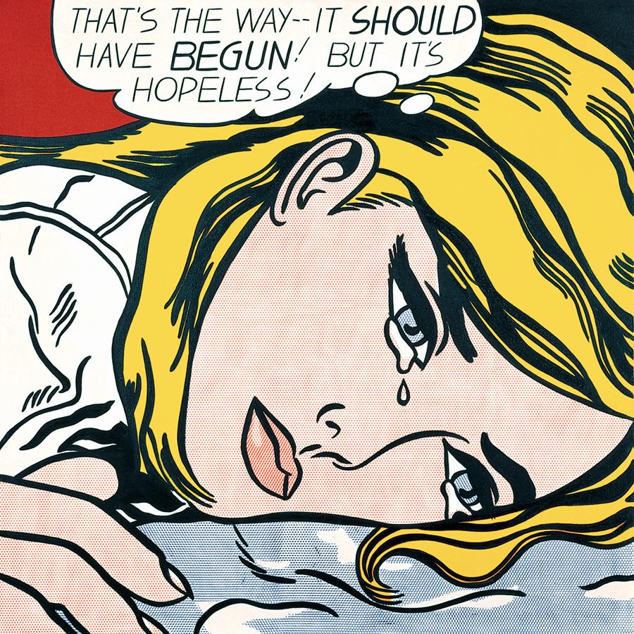 Roy Lichtenstein, opere e storia